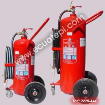 Extintores Satélites:  >PQS PRESION PERMANENTE