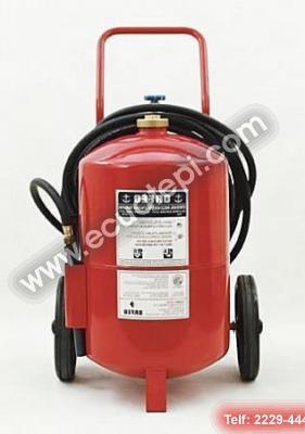 Extintores Satélites:  >DE ESPUMA
