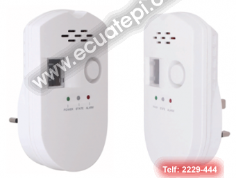 Detectores:  >Detector de GLP (gas)