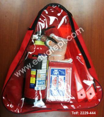 Extintores Portátiles Marca Ecuatepi:  >Kit para auto