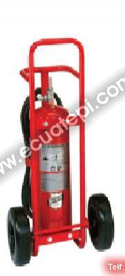 Extintores Satélites:  >Purple K 50 Lb