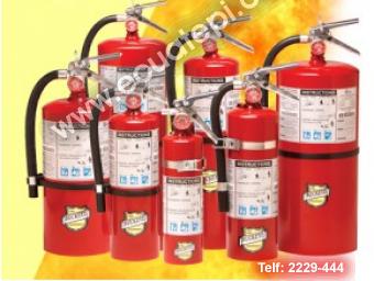 Extintores Portatiles Norteamericanos:  >POLVO QUIMICO SECO