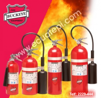 Extintores Portatiles Norteamericanos:  >DIOXIDO DE CARBONO CO2