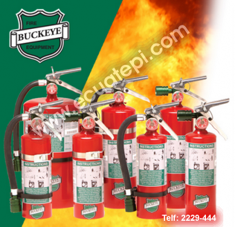 Extintores Portatiles Norteamericanos:  >GAS FM200 O HALOTRON 1